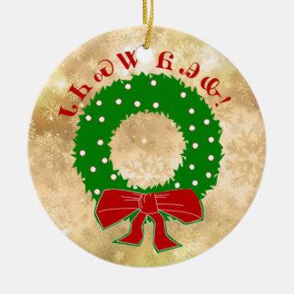 Ornement cherokee de guirlande de Noël