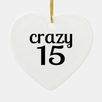 Ornement Cœur En Céramique 15 conceptions folles d'anniversaire