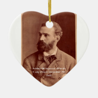 Ornement Cœur En Céramique Achille Nikolayevich Alferaki