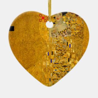 Ornement Cœur En Céramique Adele Bloch Bauer