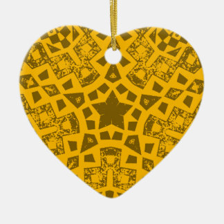 Ornement Cœur En Céramique ancien