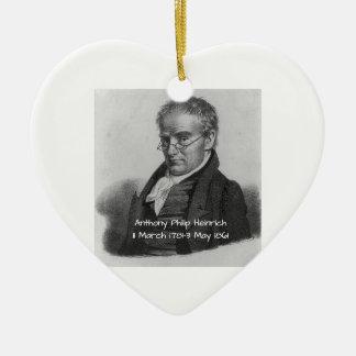 Ornement Cœur En Céramique Anthony Philip Heinrich