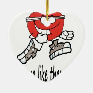 Ornement Cœur En Céramique apple4 fonctionnant