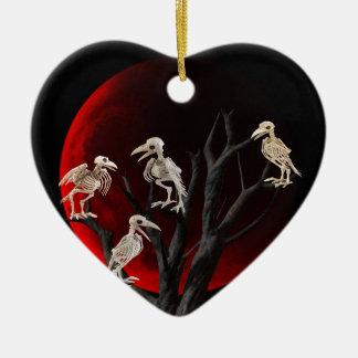 Ornement Cœur En Céramique Arbre mort
