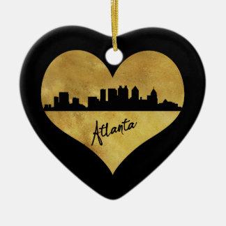 Ornement Cœur En Céramique Atlanta