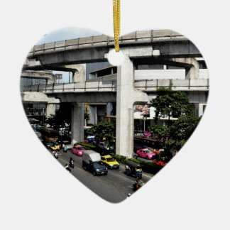 Ornement Cœur En Céramique Bangkok