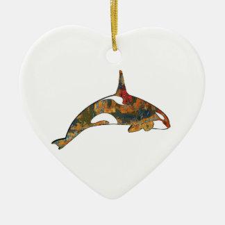 Ornement Cœur En Céramique Bonheur d'orque