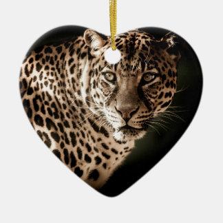 Ornement Cœur En Céramique Cadeaux de tigre