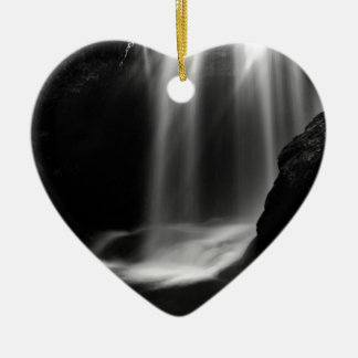Ornement Cœur En Céramique Cascade de somme en gorge de Vintgar