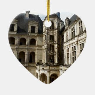 Ornement Cœur En Céramique Chambord