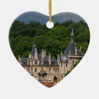 Ornement Cœur En Céramique Château de Pierrefonds