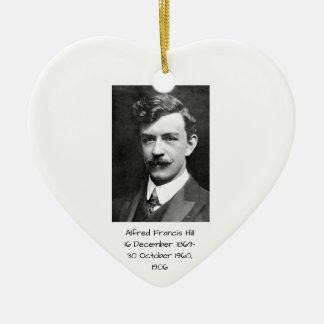 Ornement Cœur En Céramique Colline 1906 d'Alfred Francis