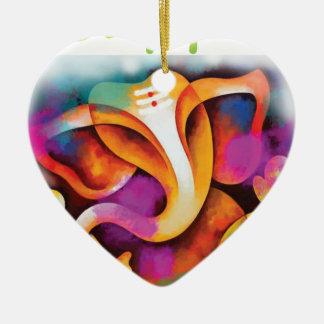 Ornement Cœur En Céramique colr-ganpati2