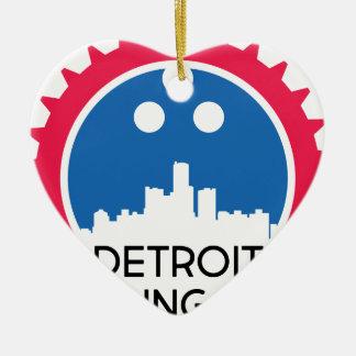 Ornement Cœur En Céramique DetroitBowlingNews.com