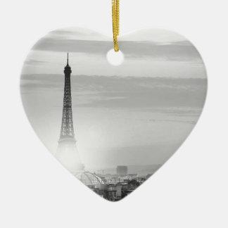 Ornement Cœur En Céramique eiffel tower, paris, France