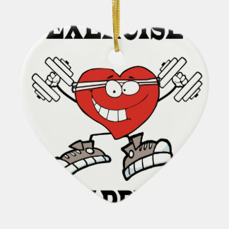 Ornement Cœur En Céramique exercice heart2