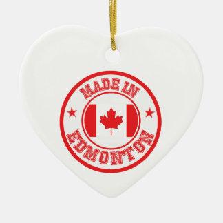Ornement Cœur En Céramique Fait à Edmonton
