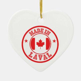 Ornement Cœur En Céramique Fait dans Laval
