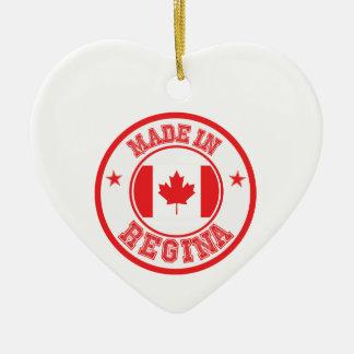 Ornement Cœur En Céramique Fait en Regina