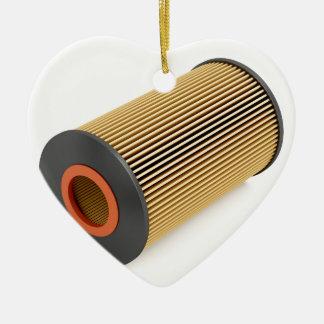 Ornement Cœur En Céramique Filtre à huile des véhicules à moteur