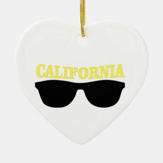 Ornement Cœur En Céramique Front de Cali