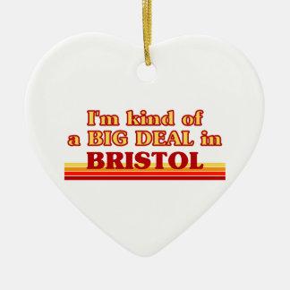 Ornement Cœur En Céramique Genre d'I´m d'affaire dans Bristol