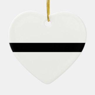 Ornement Cœur En Céramique Haltère d'haltérophilie