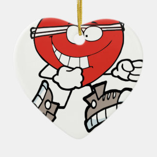 Ornement Cœur En Céramique heart4 fonctionnant