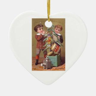 Ornement Cœur En Céramique Heart Ornament