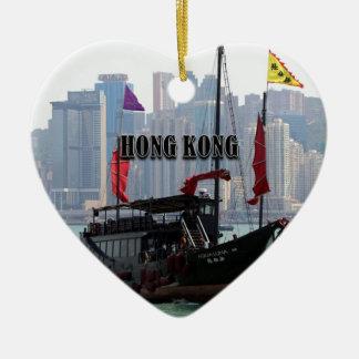 Ornement Cœur En Céramique Hong Kong : Ordure chinoise 2