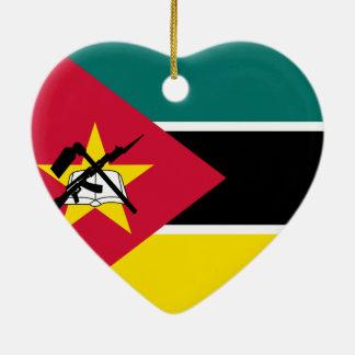Ornement Cœur En Céramique I coeur Mozambique