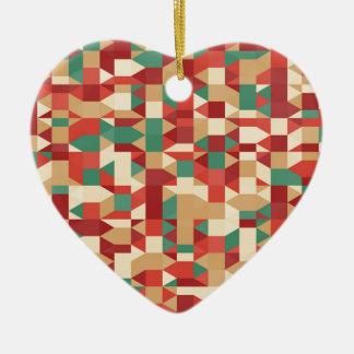 Ornement Cœur En Céramique image abstraite