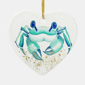 Ornement Cœur En Céramique Le crabe de Neptune