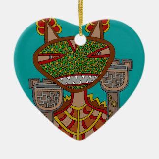Ornement Cœur En Céramique Le Kappa royal