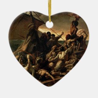 Ornement Cœur En Céramique Le radeau de la méduse - Géricault