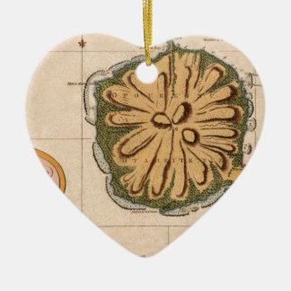 Ornement Cœur En Céramique Le Tahiti 1769