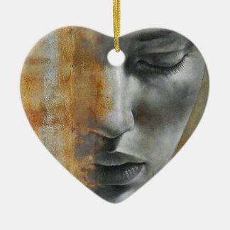Ornement Cœur En Céramique Les lois de la compassion