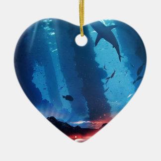 Ornement Cœur En Céramique L'imagination puissante des enfants