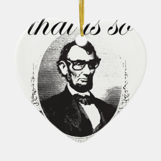 Ornement Cœur En Céramique Lincoln qui est ainsi quatre-vingt et il y a de