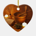 Ornement Cœur En Céramique Miscellaneous - Sauna Objects Patterns Nineteen
