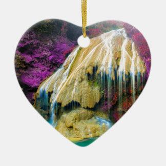 Ornement Cœur En Céramique Miscellaneous - Zen Waterfall Patterns Five