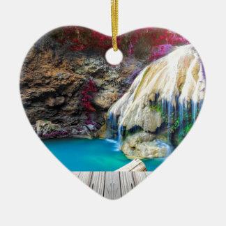 Ornement Cœur En Céramique Miscellaneous - Zen Waterfall Patterns Six