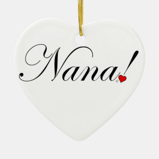 Ornement Cœur En Céramique Nana !