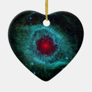 Ornement Cœur En Céramique NGC 7293 la NASA de nébuleuse d'hélice