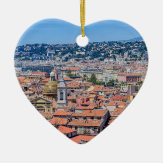 Ornement Cœur En Céramique Nice du centre, France