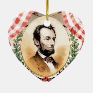 Ornement Cœur En Céramique Ovale d'Abe