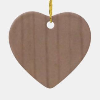 Ornement Cœur En Céramique panneau en bois droit simple