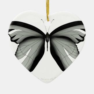 Ornement Cœur En Céramique Papillon occidental de sauge de colline