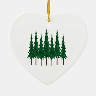 Ornement Cœur En Céramique Pinetop