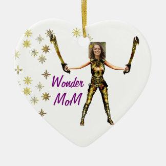 Ornement Cœur En Céramique Princesse féerique de merveille, épées - insérez